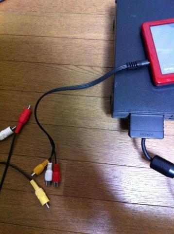 AV変換ケーブルを接続するパターン