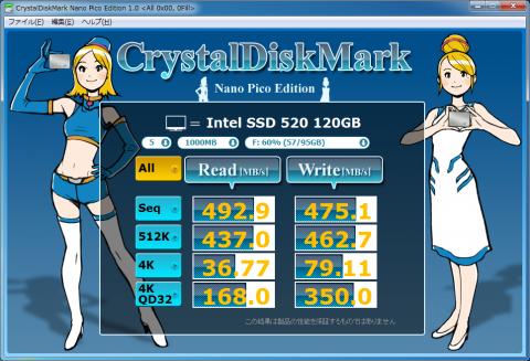 Intel SSD 520 + ASUS P8Z68-V PRO/GEN3