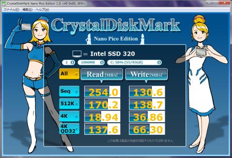 Intel SSD 320 0fill
