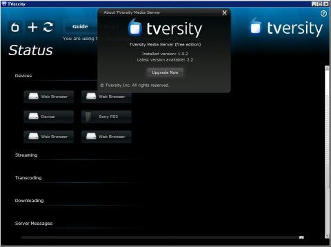 TVersity 1.9.2