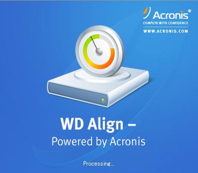WD Alignのタイトル画面