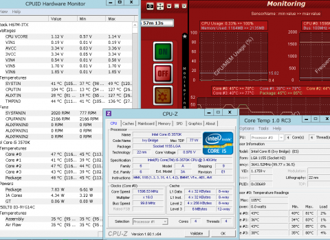 OCCT4.3.1計測2分後