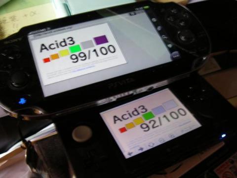 Acid3テスト比較