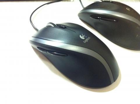 ロジクールの有線マウス「M500」