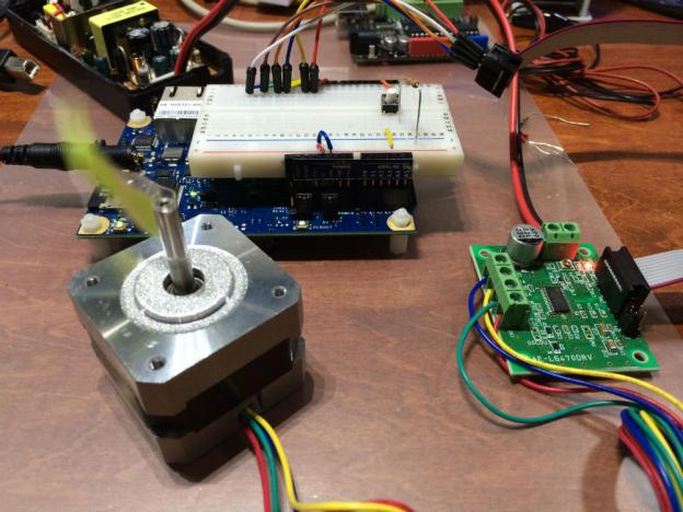 Arduinoでお試し後Galileoへ移設、SPI制御