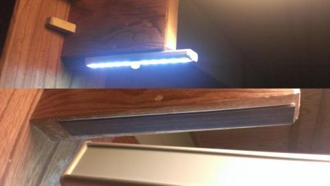 ソフトで目に優しい10発センサーライト 新作 oxyled t 02 diy 10 led