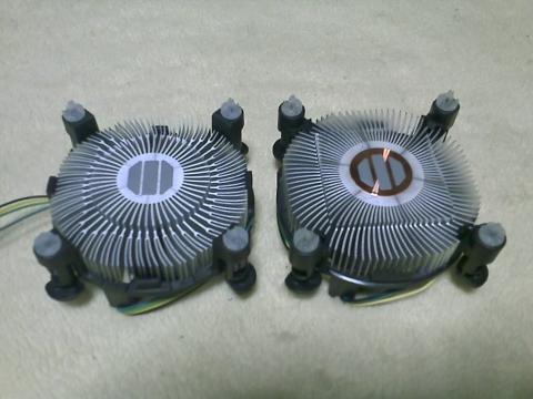 Corei3 2120 vs Corei5 2400のFAN