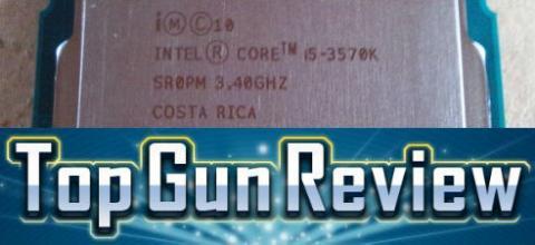 Top Gun Review 【 Intel Core i5 3570K 】 プレミアムレビューさせていただくことになりました。