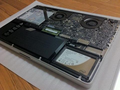 HDD から SSD へ換装