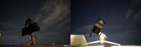 天体撮影 NEX-5N+ミニ三脚