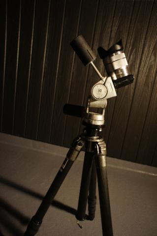 天体撮影 NEX-5N+三脚