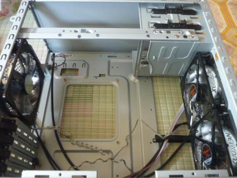 ST-560T-Bファン取り付け
