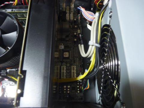 PCI Expressスロット部