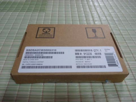 Intel SSD 320 パッケージ