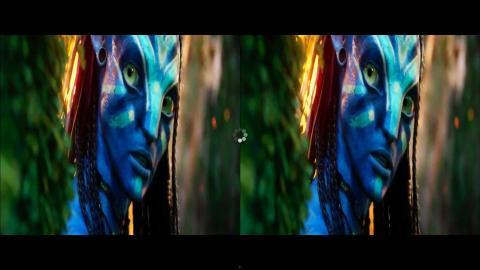 Avatarの3Dトレーラー・ムービーから(3200 x 1800)