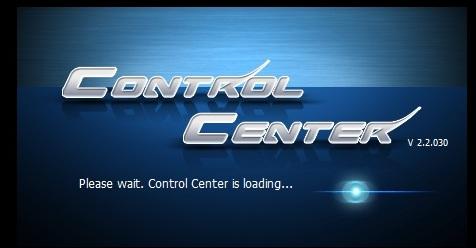 「ControlCenter」を起動する。