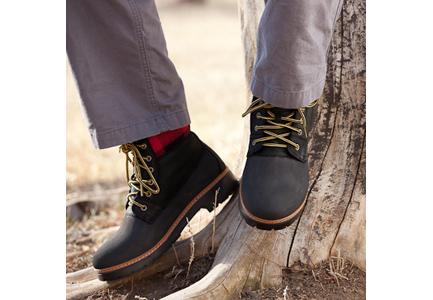 crocs cobbler boot (black/black)