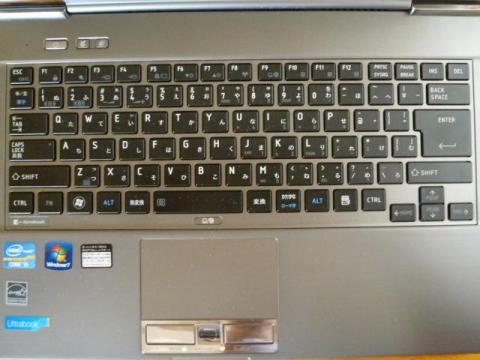 アイソレーションタイプのキーボード