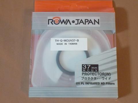 ROWA 薄枠MC UVレンズ保護フィルター 37mm