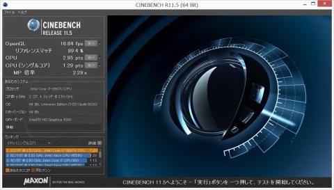 CineBench Release 11.5