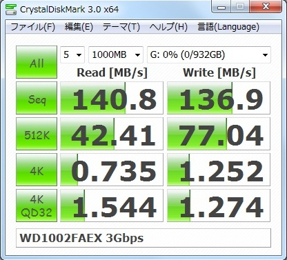 WESTERN DIGITAL Caviar Black WD1002FAEX 3Gbps