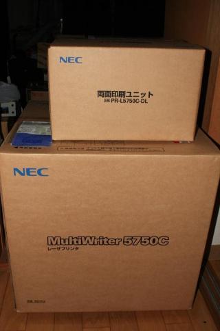 nec multiwriter 5750c ファームウェア