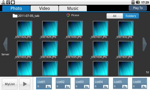 Picasaのファイルはなぜか表示されず…