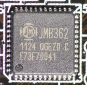 eSATAのコントローラーはJMB362が搭載される