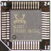 サウンド機能はRealtekのALC892が搭載されるが、個人的にはX-Fiなどが搭載されてもよかったのではないかと思う
