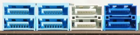 内蔵8ポート、eSATA1ポートと大量のSATAデバイスが搭載可能