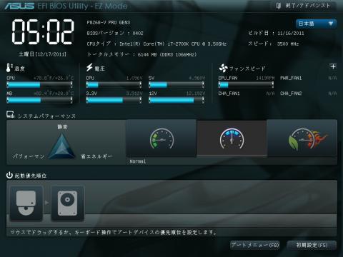 デフォルト言語は英語ではあるが、日本語に変更することも可能だ。