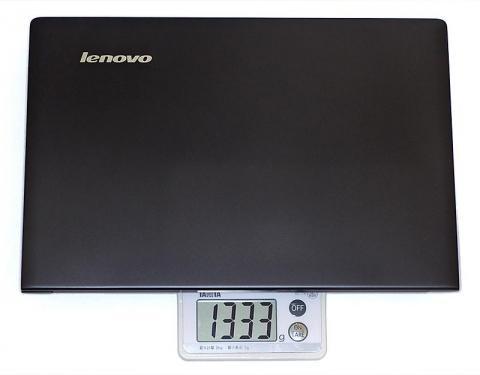 重量は1333gとカタログスペックより少々重め