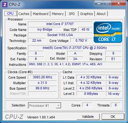 Core Voltage -0.150V時
