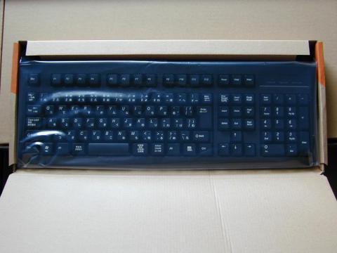 普通のUSBキーボード
