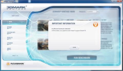 何故かIntel HD GraphicsをDirectX10対応と認識しない・・・