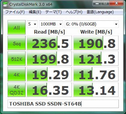 TOSHIBA SSD