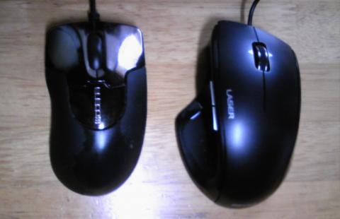 旧マウスとの比較