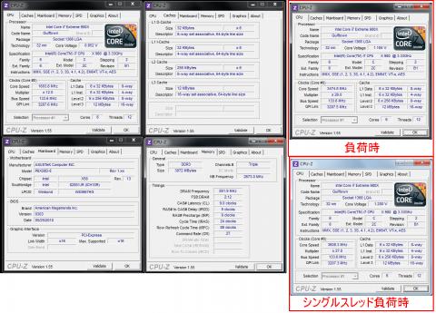 i7-980X(定格)CPU-Z