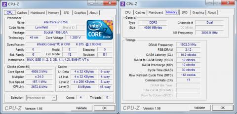 CPU-Z 4009MHz