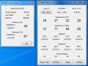 ベンチマーク時 CPU/GPU温度