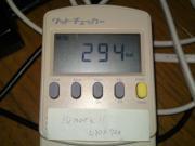 3DMark11実行時のPC消費電力