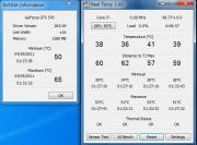 ベンチマーク実行時のCPU・GPU温度