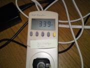 3DMark Vantage実行時の消費電力