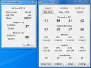 ベンチマーク実行時CPU・GPU温度