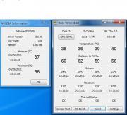 バイオハザード5 DX9 ベンチ実行時CPU/GPU温度