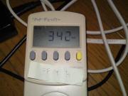 FF14ベンチ実行時の最大消費電力