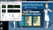 NCQ時のCPU使用率 (core i3 2100T)