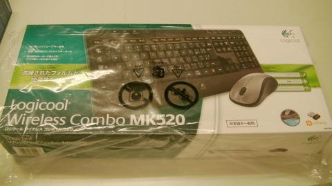 【長電池寿命のLogicool Wireless Combo MK520 [ワイヤレスセット