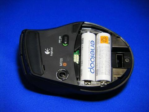電池はエネループを使用