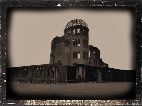 原爆ドーム・さらに古い感じ